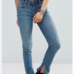 Free people bootcut jeans, size 31